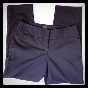 Express women's ankle pants sz 6 Black